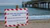 <b>boscombe-east-beach2.jpg</b> <br/> Boscombe Surf Reef Not In use sign