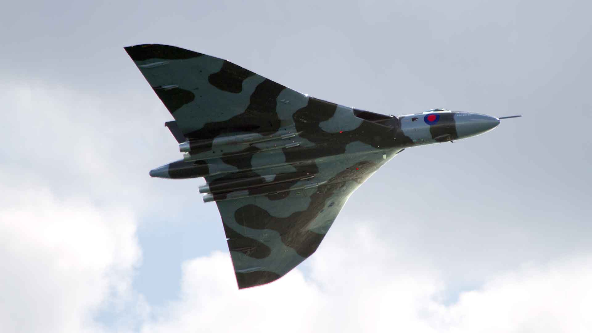 vulcan flight bournemouth air show